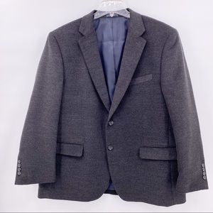 Nautica Men's Dark Gray Sports Coat